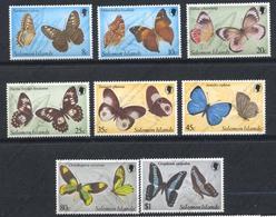 Iles Salomon, Yvert 415/418+443/446, Scott 431/434+461/464, MNH - Salomon (Iles 1978-...)