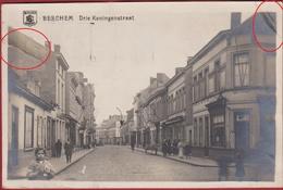 Berchem Antwerpen ZELDZAAM Zeldzame FOTOKAART Drie Koningenstraat 1920 Foto Stempel Olympiade VII De 7 - Antwerpen