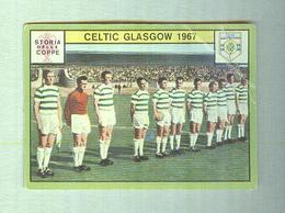 CELTIC GLASGOW TEAM  1967.......MUNDIAL....SOCCER..WORLD CUP....FOOTBALL..FIFA - Trading Cards