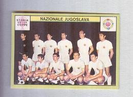 JUGOSLAVIA  TEAM  1968.......MUNDIAL....SOCCER..WORLD CUP....FOOTBALL..FIFA - Trading Cards