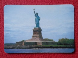 CALENDARIO DE BOLSILLO CALENDAR MONUMENTO LA ESTATUA DE LA LIBERTAD ESTADOS UNIDOS USA NUEVA NEW YORK STATUE OF LIBERTY - Tamaño Pequeño : 2001-...