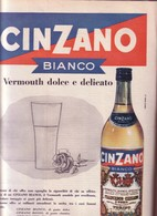 (pagine-pages)PUBBLICITA' CINZANO Epoca1959/456.+2 - Books, Magazines, Comics