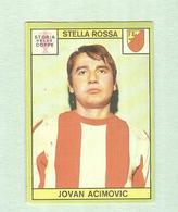 JOVAN ACIMOVIC....STELLA ROSSA ......MUNDIAL....SOCCER..WORLD CUP....FOOTBALL..FIFA - Trading Cards