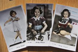 1506/ Shirley TEMPLE (3 Cartes Couleur) - Artistes