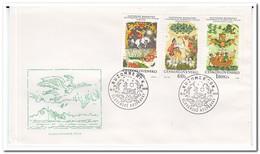Tsjechoslowakije 1968, FDC, Fairytales - FDC