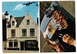 Brugge, Bruges, A La Dentelliere Du Béguinage, O Pieters De Vooght, Privékaart (pk55054) - Brugge