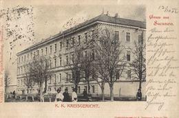 ROMANIA - SUCEAVA - SUCZAWA, K. U. K. Kreisgericht - 1902 - Romania