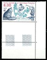T.A.A.F.   Y&T   242  XX   ---     MNH  --  Luxe  --  Superbe Coin De Feuille... - Neufs