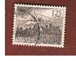 NORVEGIA  (NORWAY)    SG 804   -   1977  FISHING INDUSTRY    -   USED ° - Norvegia