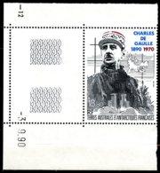 T.A.A.F.   Y&T  PA  118  XX   ---     MNH  --  Luxe  --  Superbe Coin De Feuille... - Poste Aérienne