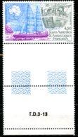 T.A.A.F.   Y&T  PA  134  XX   ---     MNH  --  Luxe  --  Superbe Bord De Feuille... - Poste Aérienne