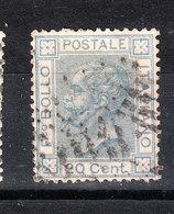 Italia   -   1867.  V. Emanuele II 20 C.   Viaggiato. - Usati