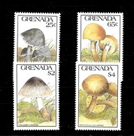 Serie De Granada Nº Yvert 1986/89 ** SETAS (MUSHROOMS) - Grenade (1974-...)