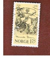 NORVEGIA  (NORWAY)    SG 811  -   1978  H. IBSEN, DRAMATIST    -   USED ° - Norvegia