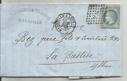 Ambulant Marseille à Lyon - Marcophilie (Lettres)