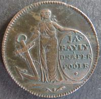 Großbritannien 1795 - Half Penny Token Prosperity To The Town Of Poole  Ss - Entriegelungschips Und Medaillen