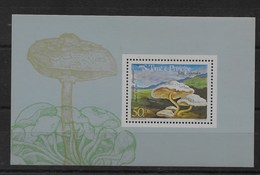 Hoja Bloque De Santo Tomé Nº Yvert HB-161 ** SETAS (MUSHROOMS) - Sao Tomé Y Príncipe