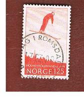 NORVEGIA  (NORWAY)    SG 839  -   1979  HOLMENKOLLEN SKIING COMPETITIONS   -   USED ° - Norvegia