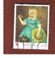 NORVEGIA  (NORWAY)    SG 841  -   1979  INTERNATIONAL YEAR OF THE CHILD: PAINTING   -   USED ° - Norvegia