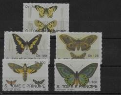 Serie De Santo Tomé Nº Yvert 1094/98 ** SETAS (MUSHROOMS) - Sao Tomé Y Príncipe