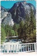 Kings Canyon National Park  California Roaring River At Cedar Grove - (USA) - USA Nationale Parken
