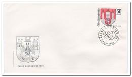 Tsjechoslowakije 1968, FDC, Day Of The Stamp - FDC
