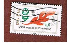NORVEGIA  (NORWAY)    SG 854  -   1980   CHRISTIAN YOUTH ASSOCIATION  -   USED ° - Norvegia