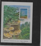 Hoja Bloque De Sierra Leona Nº Yvert HB-165 ** SETAS (MUSHROOMS) - Sao Tomé Y Príncipe