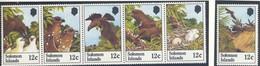 Iles Salomon, Yvert 449/454, Scott 465/470, MNH - Salomon (Iles 1978-...)