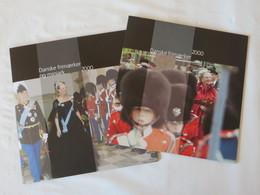 Année 2000 ** Complète Dans 2 Livrets Poste Danoise (1 Livret Timbres + 1 Livtret Blocs) - Danemark