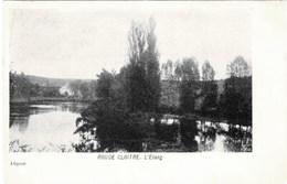 BRUXELLES - ROUGE  CLOITRE - L' Etang - Carte Précurseur - Oblitération De 1904 - Bossen, Parken, Tuinen