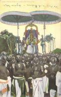 God Perumal's Garuda Servai 1912 (Indien) - Asie