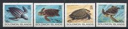 Iles Salomon, Yvert 475/478, SG 485/488, Scott 489/492, MNH - Salomon (Iles 1978-...)