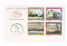 """Italia - FDC - """"Turistica"""" - 1980 - 6. 1946-.. Repubblica"""