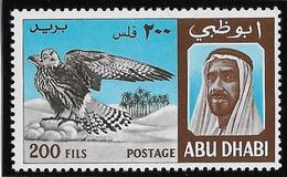 Abu D'Habi N°35 - Oiseaux - Neuf ** Sans Charnière -  TB - Stamps