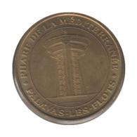 0127 - MEDAILLE TOURISTIQUE MONNAIE DE PARIS 34 - Phare De La Méditerrenée- 2007 - Monnaie De Paris