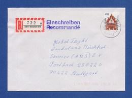 Bund R-Brief Einschreiben EF Neues Tor Brandenburg - BIELEFELD - BRD