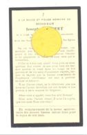 Faire-part De Décès De Mr. Joseph BORGUET  LIEGE 1913 / 1934 (b243) - Décès