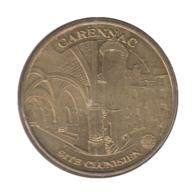 0157 - MEDAILLE TOURISTIQUE MONNAIE DE PARIS 46 - Site Clunisien - 2010 - Monnaie De Paris