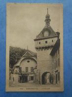 SUISSE-ROMAINMOTIER L'horloge , Circulée En 1925 , 2 Scans - VD Vaud