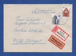 Bund R-Brief Einschreiben MiF Sehenswürdigkeiten - BIELEFELD - BRD
