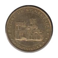 0193 - MEDAILLE TOURISTIQUE MONNAIE DE PARIS 63 - Eglise De St Nectaire - 2006 - Monnaie De Paris