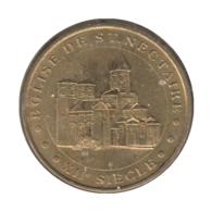 0194 - MEDAILLE TOURISTIQUE MONNAIE DE PARIS 63 - Eglise De St Nectaire - 2012 - Monnaie De Paris