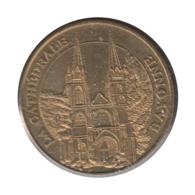 0201 - MEDAILLE TOURISTIQUE MONNAIE DE PARIS 64 - Cathédrale De Bayonne - 2013 - Monnaie De Paris