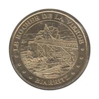 0202 - MEDAILLE TOURISTIQUE MONNAIE DE PARIS 64 - Rocher De La Vierge - 2012 - Monnaie De Paris
