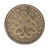 0205 - MEDAILLE TOURISTIQUE MONNAIE DE PARIS 64 - Musée De La Mer - 2008 - Monnaie De Paris
