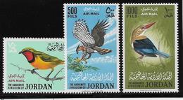 Jordanie Poste Aérienne N°25/27 - Oiseaux - Neuf ** Sans Charnière -  TB - Jordanie
