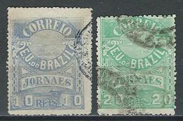 Brasil Mi 98, 99, Sc P22, 24  Used - Brasil