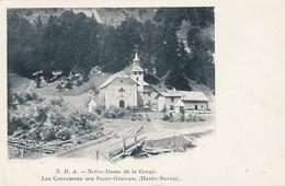 CPA - France - (74) Haute Savoie - Notre-Dame De La Gorge - Les Contamines Sur  Saint-Gervais - Les Contamines-Montjoie