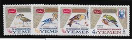 Yemen N°183/186 - Oiseaux - Neuf ** Sans Charnière -  TB - Yemen